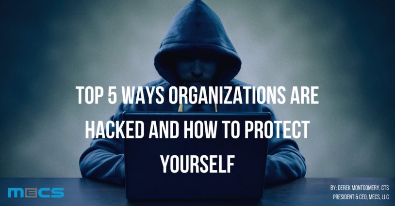 Top 5 Ways Organizations are Hacked and How to Protect Yourself